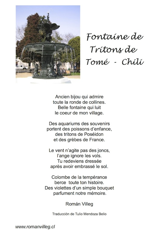 Renacer De La Fontana De Tritones De Tomé Chile