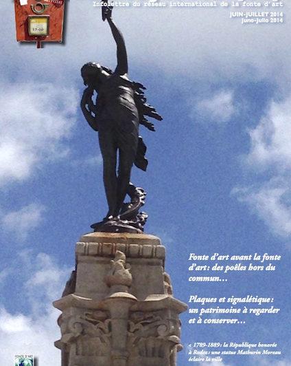 La Mougeotte : newsletter du Réseau international de la fonte d'art RIFA - Accéder aux archives (accès libre)